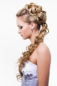 wedding-hairstyles at Ruby Mane Hairdressing Salon in Farnham