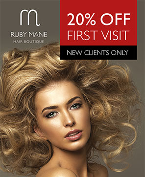 New Client Discount Promotion Offer Ruby Mane Top Hairdressers Farnham