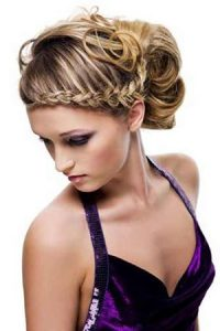 plaited-prom-hair-upstyle at Ruby Mane Hairdressing Salon in Farnham