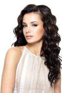 long curly hairstyles, ruby mane hair salon, farnham, surrey