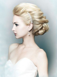 bridal hair at Ruby Mane Hairdressing Salon in Farnham