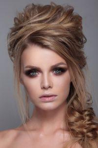 half-upstyle-for-proms at Ruby Mane Hairdressing Salon in Farnham