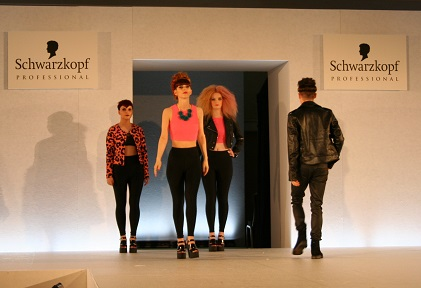 Ruby Mane team 'wows' at top hair competition
