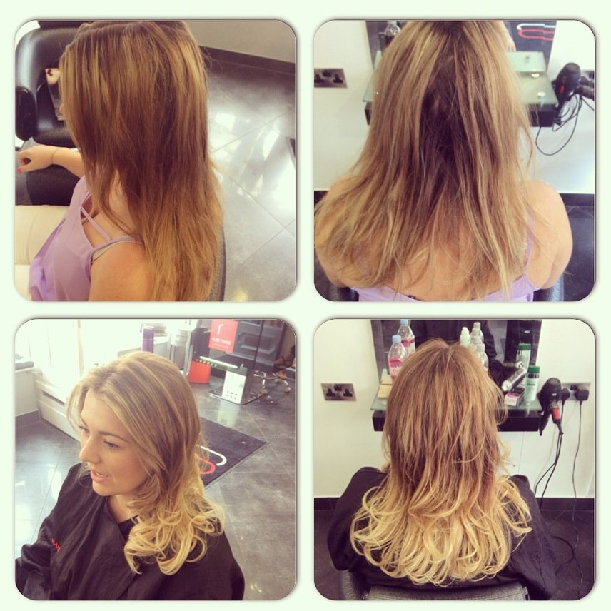 colour correction by vickie, Before & After Photos at Top Hair Salon in Farnham, Surrey
