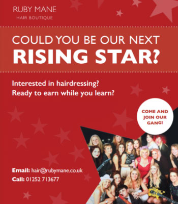 Become a Hairdresser Apprentice