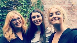 Faye, Charlotte & Beth Get Promoted