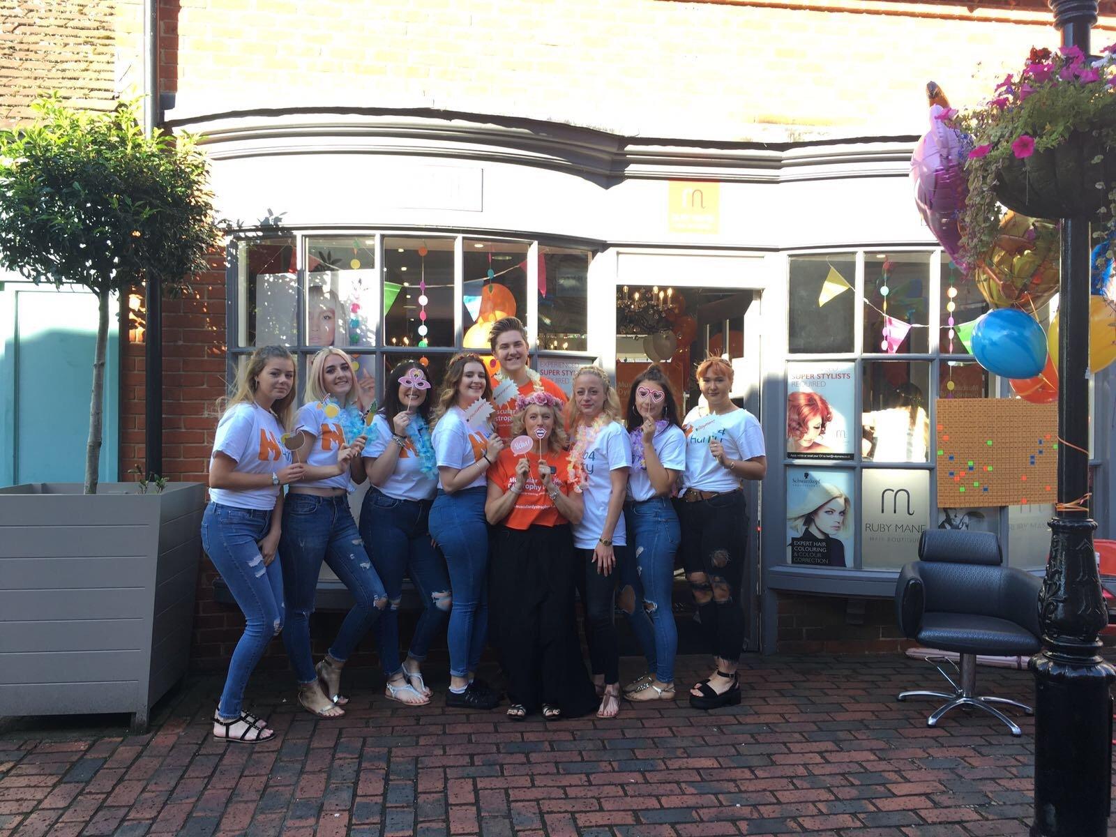 Ruby Mane Hair Salon team in Farnham