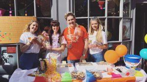 fundraising fun in farnham at Ruby Mane Hair Salon