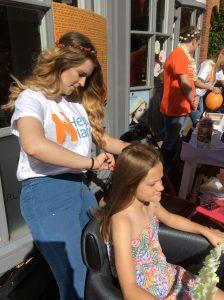 hair braiding, farnham hairdressers