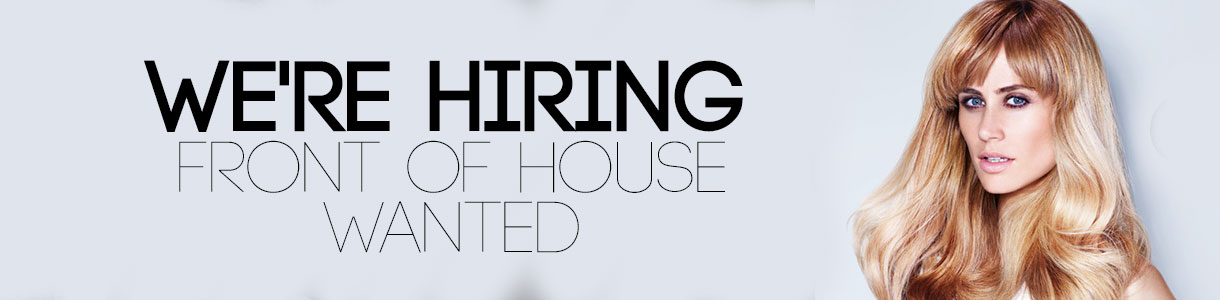 Front of House Vacancy
