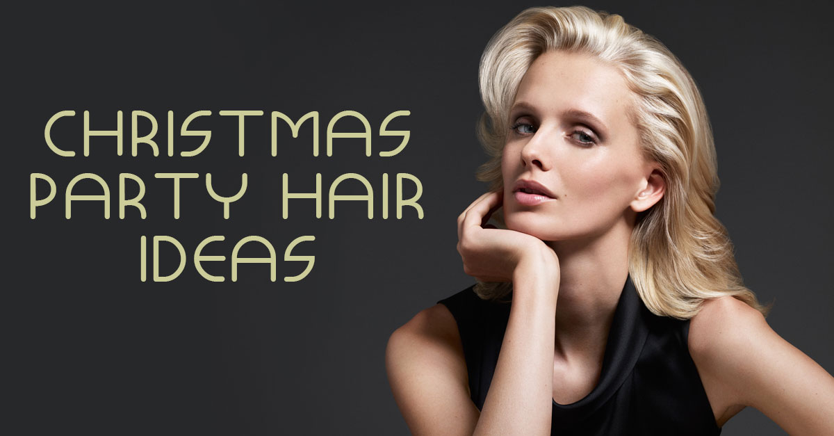 Glamorous Christmas Party Hairstyles