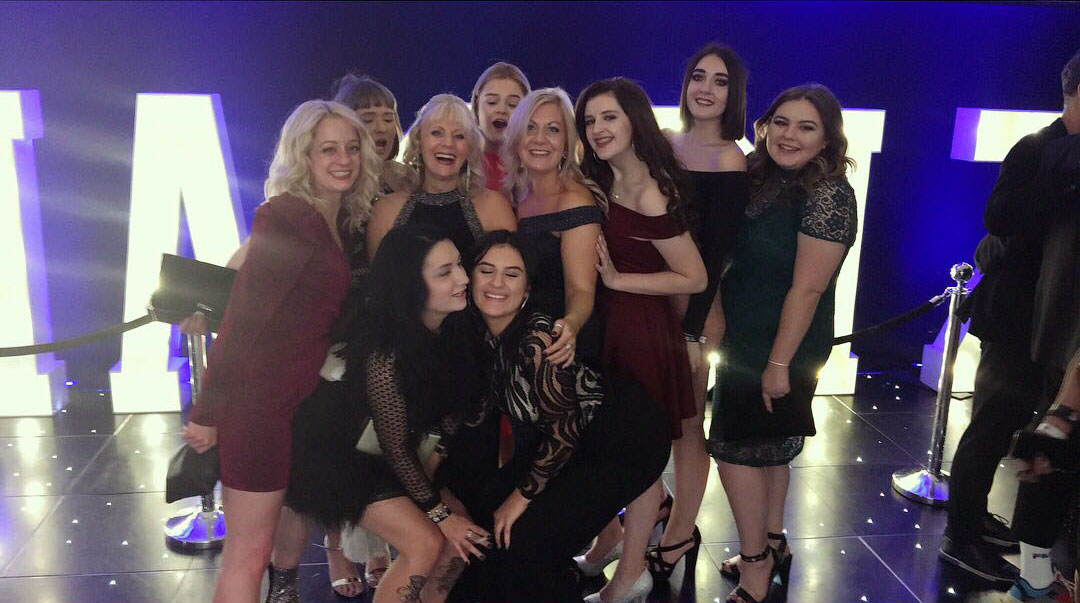 Ruby Mane at the British Hairdressing Awards