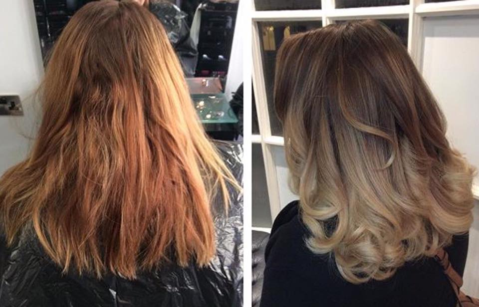 balayage, farnham hair salon