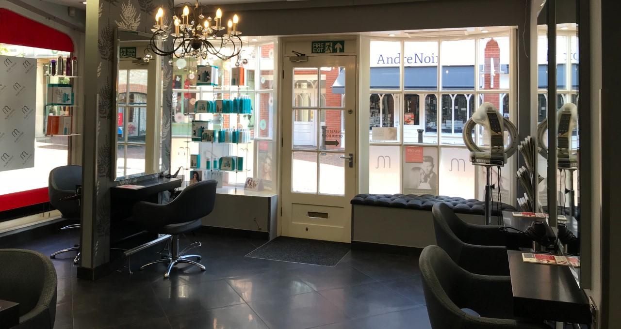 visit Ruby Mane hairdressing salon in Farnham, Surrey