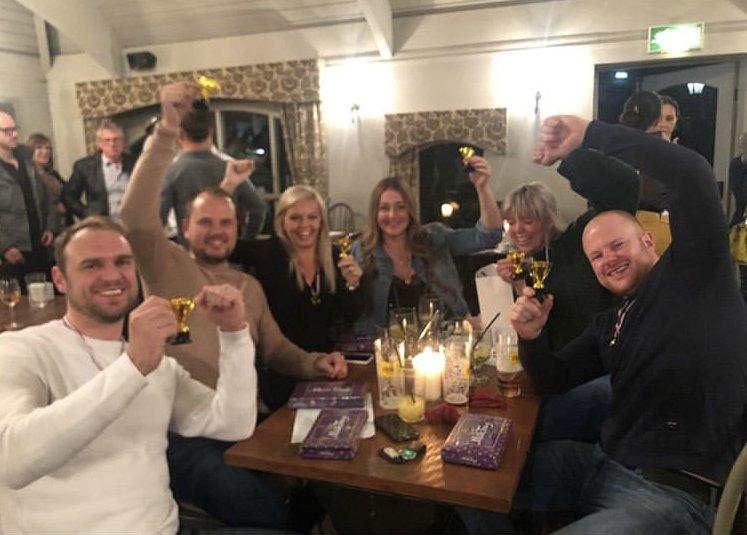 Quiz & Curry Night Raises £1,100