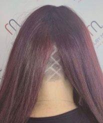 undercut shaved hair design ruby mane hair boutique farnham surrey