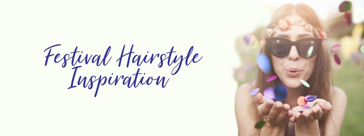 Festival Hairstyle Inspiration, Ruby Mane Hair Boutique in Farnham, Surrey