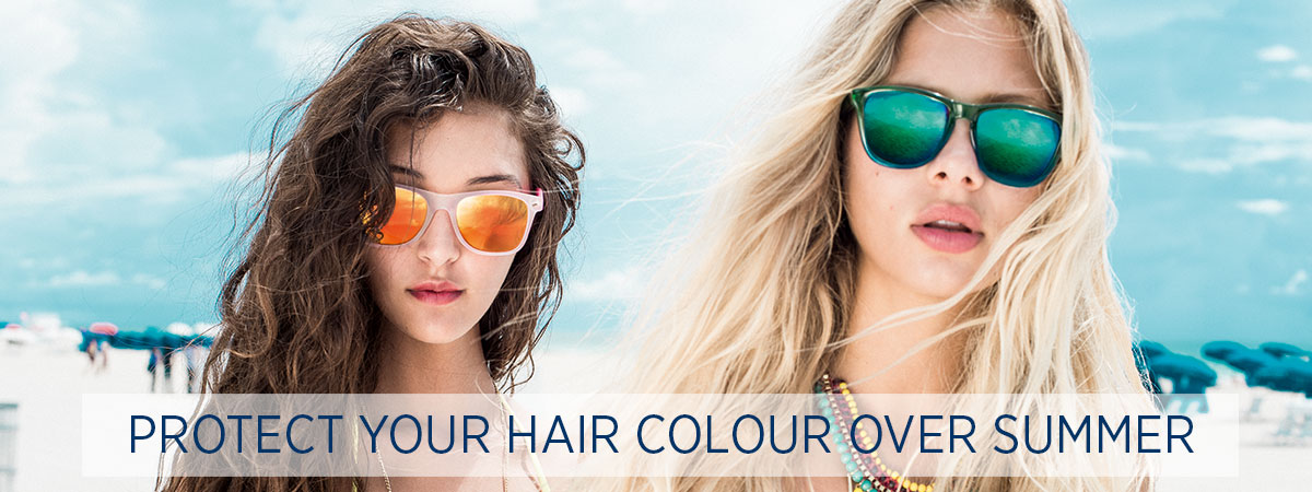 Protect Your Hair Colour Over Summer