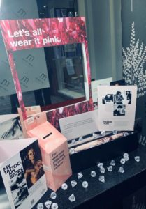 wear it pink fundraising ruby mane hair salon farnham surrey