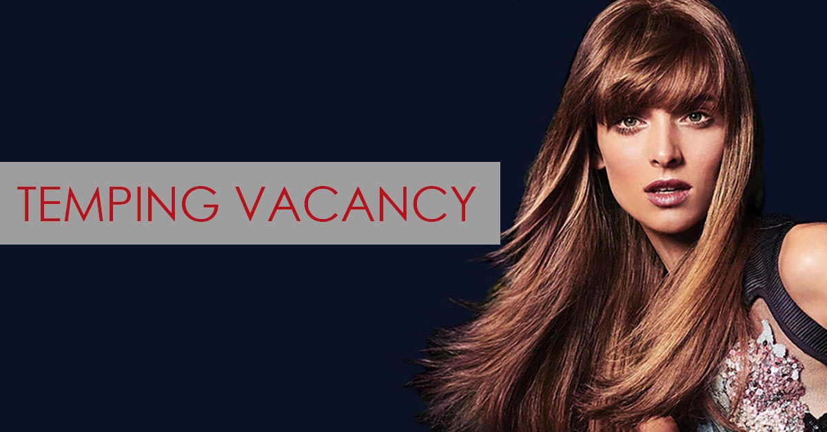 Temping Vacancy, hairdressers, farnham, surrey