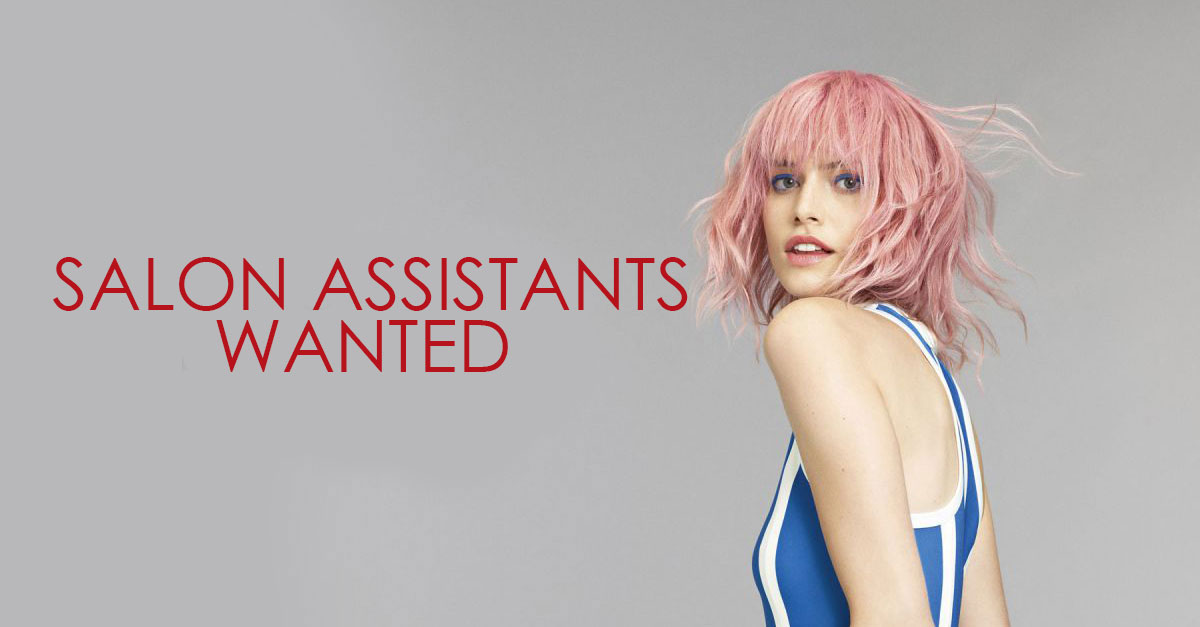 SALON ASSISTANTS WANTED at Ruby Mane Hairdressing Salon in Farnham