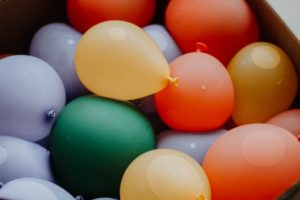 Water Balloon, How to Keep Children Entertained During Lockdown, Ruby Mane Hair Boutique in Farnham