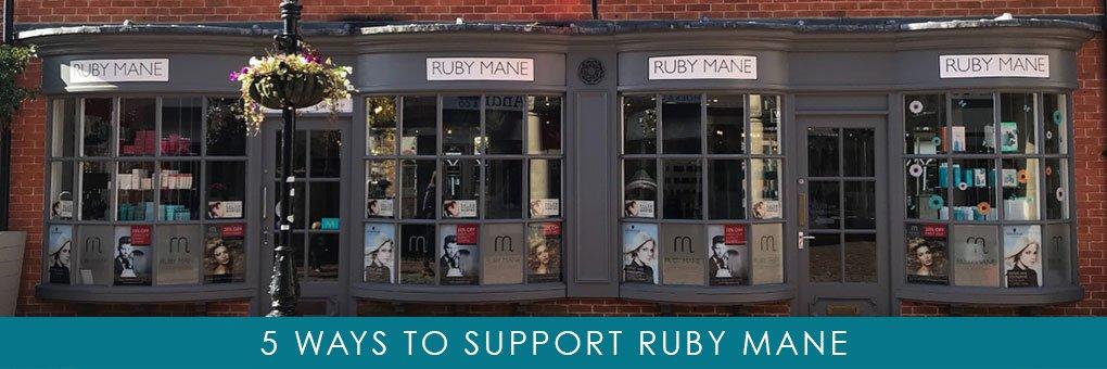 5 ways to support Ruby Mane Hair Boutique in Farnham 2