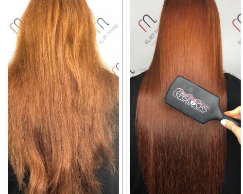 Easilocks Hair Extensions and colour by Tyla