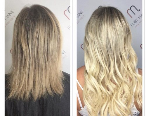 Great Lengths hair extensions by Charlotte