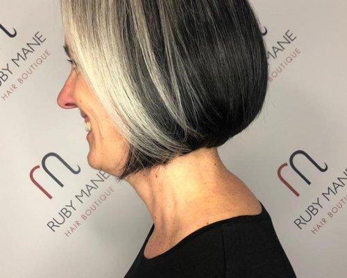 Hairstyles for older women at ruby mane hair boutique salon in farnham, surrey
