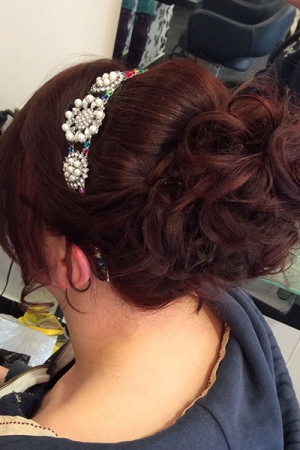 Bridal Hairstyles by Ruby Mane Farnham, Surrey