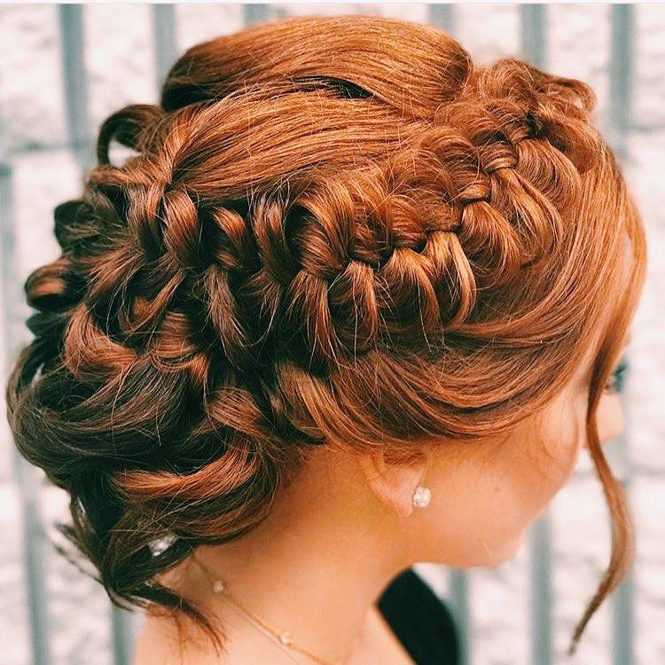 prom hair salon updo hairstyles farnham surrey plaited