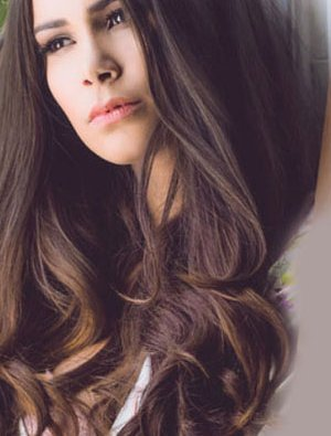 Stunning hair extensions from Ruby Mane Hairdressers, Farnham