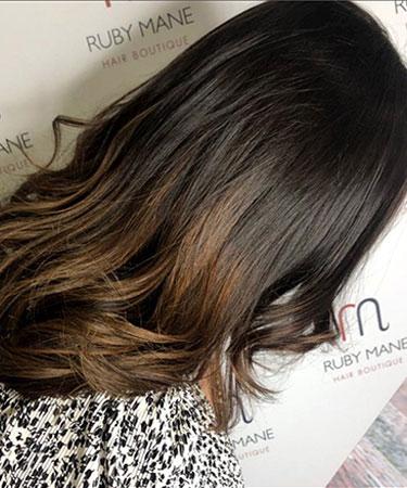 Stunning Hair Extensions at Ruby Mane Hair Salon in Farnham